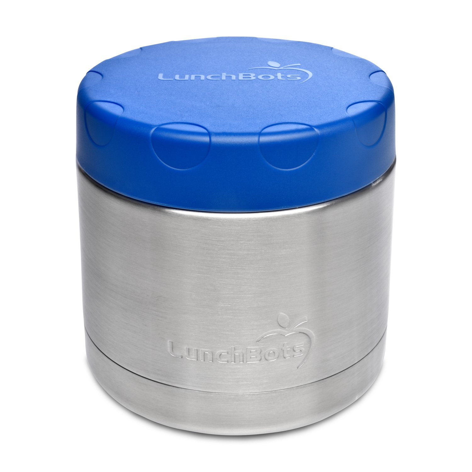 d4216beca793 LunchBots 16oz Thermal Stainless Steel Wide Mouth Thermos - Insulated  Container with Lid Keeps Food Hot or Cold for Hours - Leak-Proof Portable  ...