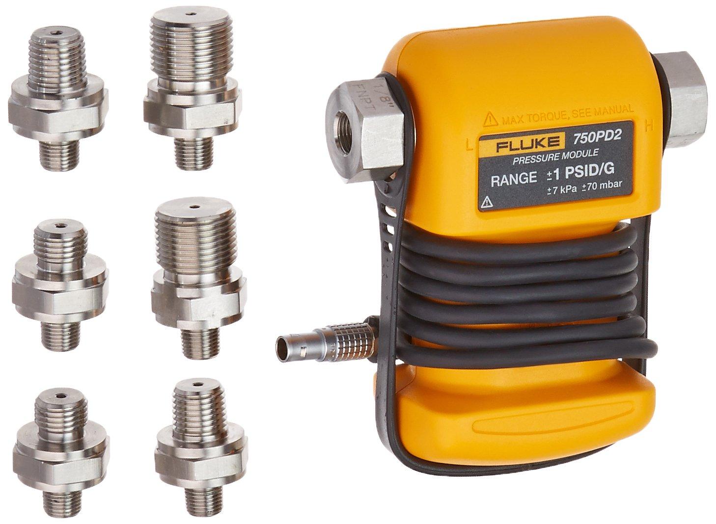 FLUKE 750PD2 Differential Pressure Module 1 to 1 psi compound range