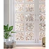 rabbitgoo Glass Window Film, Decorative Window Stickers, Privacy Window Clings, Static Cling Door Window Covering…