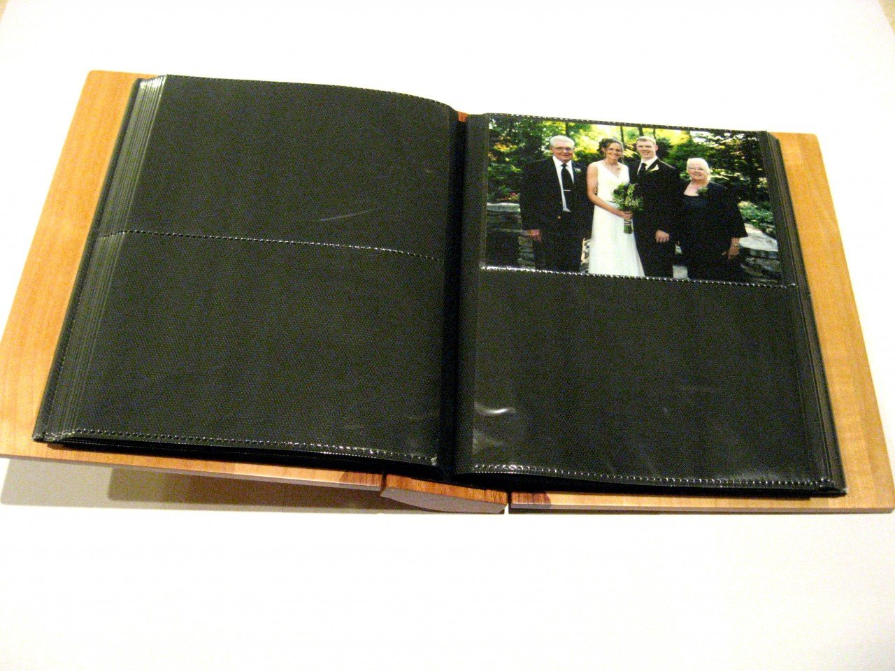 Personalized Wooden Photo Album With Your Custom Design - Large by Whitetail Woodcrafters (Image #8)