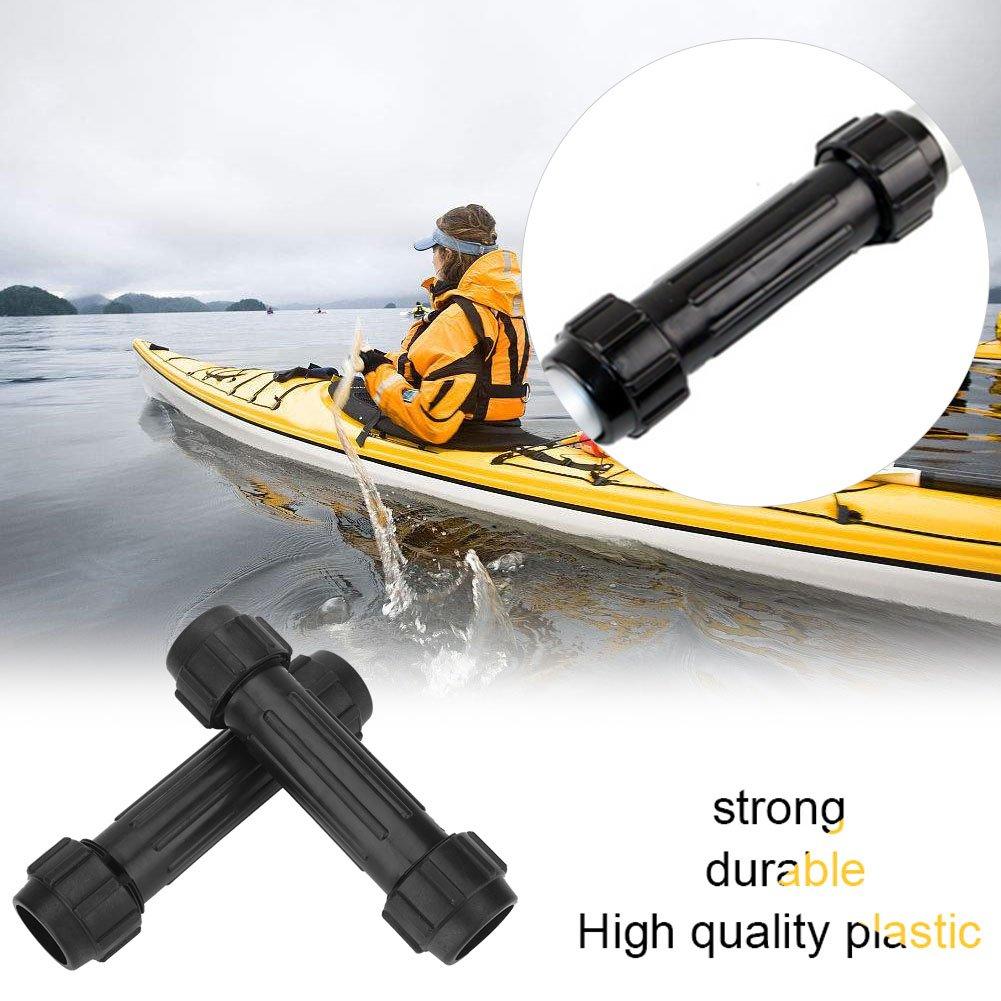 2 Stücke PVC Kajak Paddel Paddel Boot Rudern Anschlüsse Rohr Zubehör