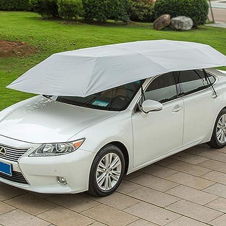 MachinYeser Carro semiautomático de la presión hidráulica del Coche Paraguas Plegable Anti-UV Car Carro