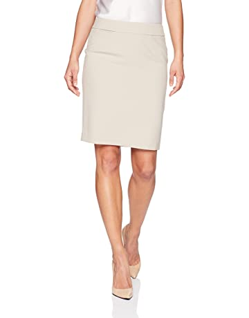 503bc3254ff6 Calvin Klein Women's Petite Lux Straight Skirt