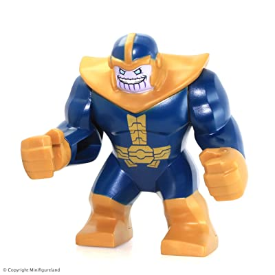 LEGO Super Heroes: Avengers MiniFigure - Thanos (From Set 76049): Toys & Games
