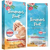 Summer Foot Premium Foot Mask for Baby Soft Feet | Exfoliating Foot Peel & Callus...