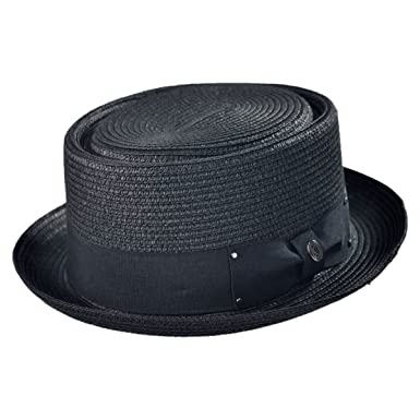 Jaxon Hats Toyo Braid Pork Pie Hat at Amazon Men s Clothing store  f7d3d6e45950