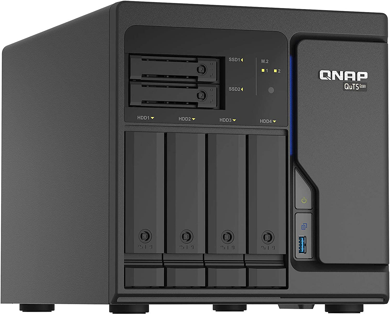Qnap Ts H686 D1602 8g 6 Bay Desktop Nas Gehäuse Computer Zubehör