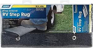 "Camco 42925-A Gray 18 Inch 42925 18"" Rv Step Rug-Grey"