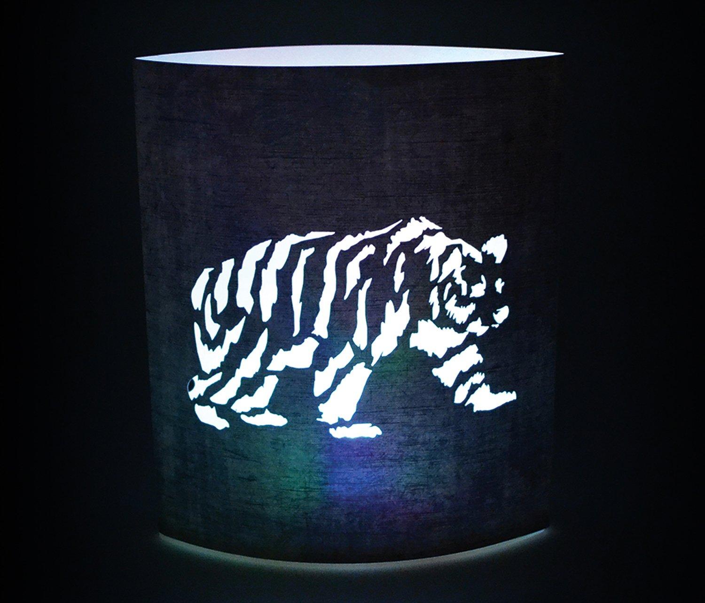 Puzzled Black Bear LED Decorative Lanterns - Animal Theme - Elegant Unique Gift and Useful Souvenir - Item #9650 by Puzzled (Image #4)