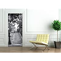 Ambiance-Live Adhesivo para Puerta, diseño de Escalera parisina