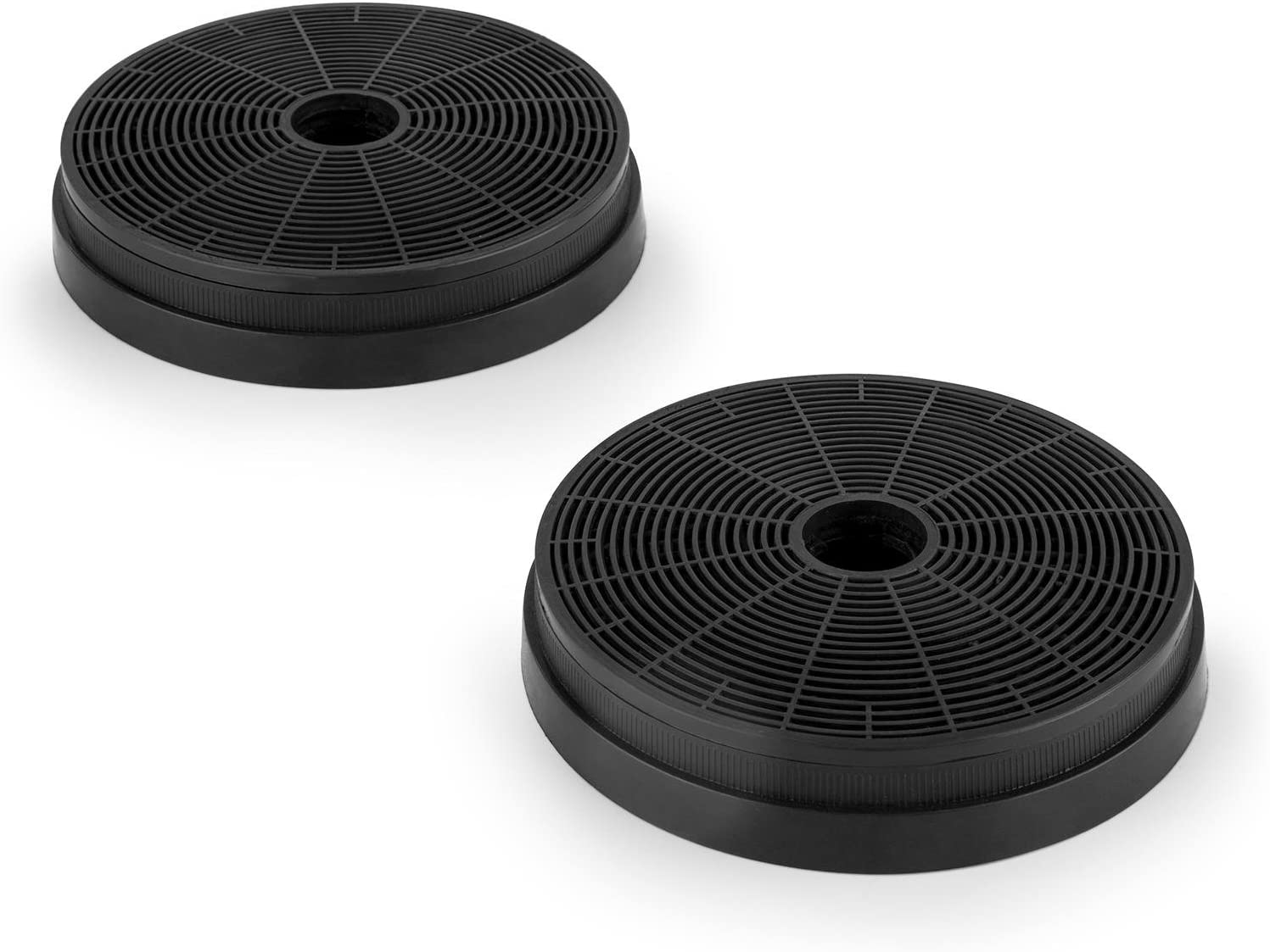 Klarstein Set de 2 filtres actifs de rechange pour hotte de cuisine facilit/é dinstallation et de remplacement