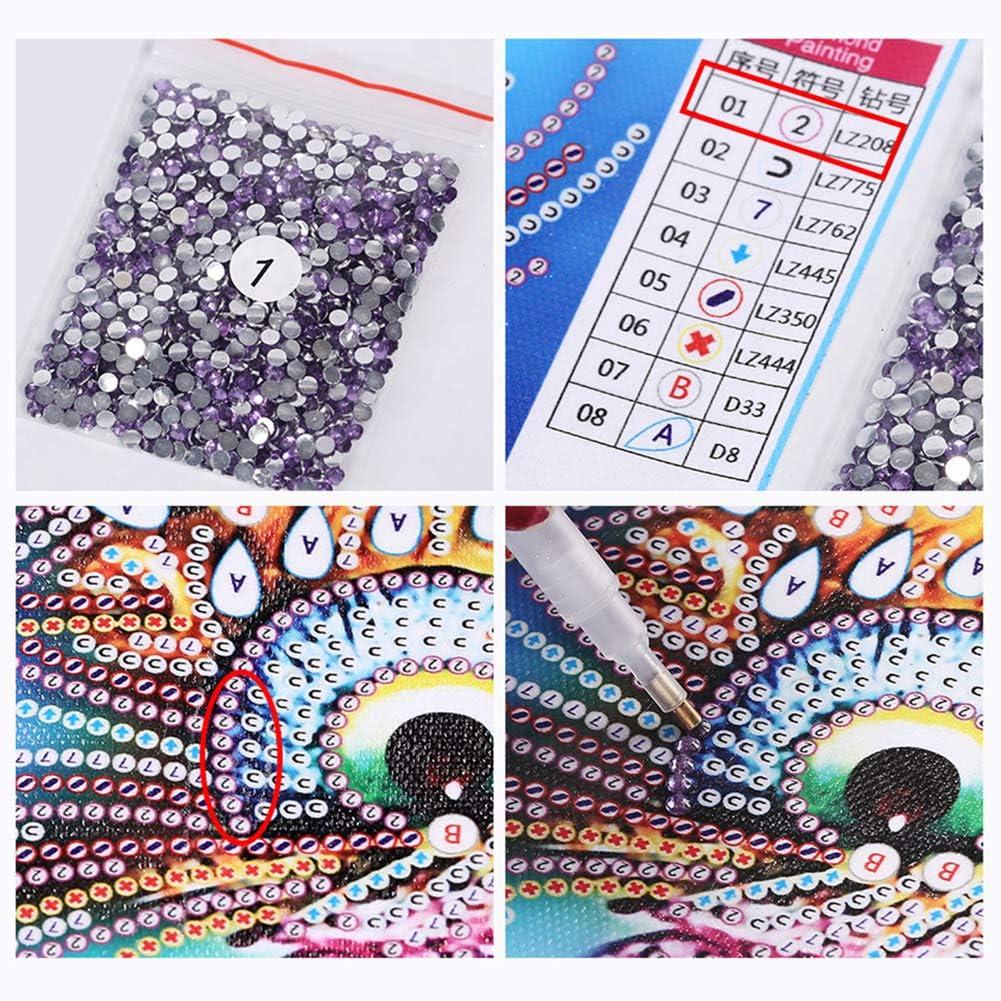 Bricolage Diamant Peinture pour Ordinateur Portable Diary A5 Livre Sp/écial Shaped Diamant Kits Art TrusMe Mosa/ïque Diamant Broderie