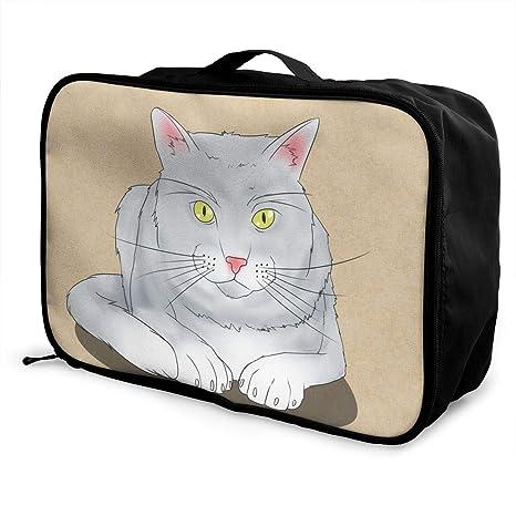 Brent Cartere Organizador de equipaje para gatos, ligero ...