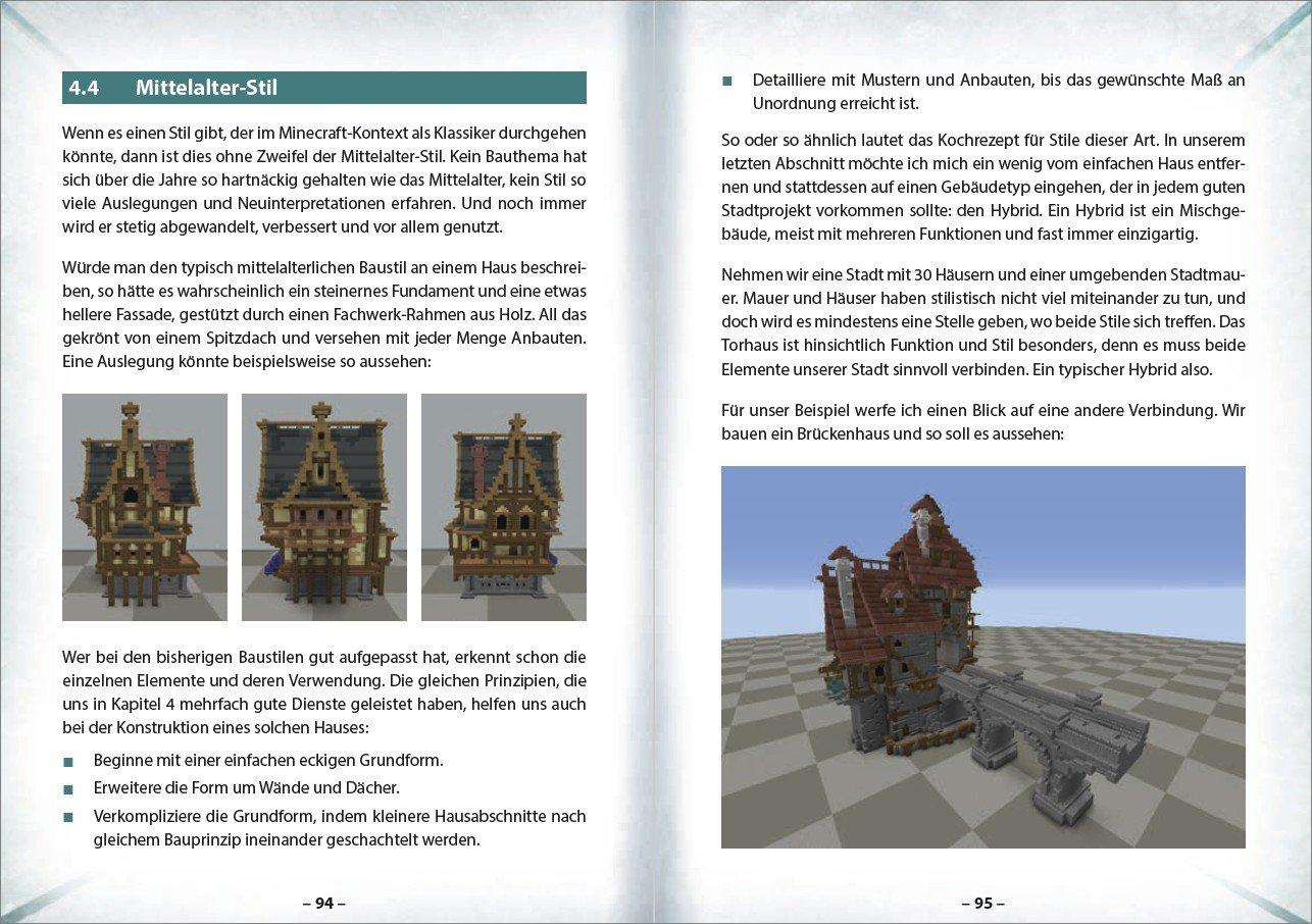 BIOMIA Weltenlabor Werde Minecraft Architekt Amazonde Kai - Minecraft schone einfache hauser