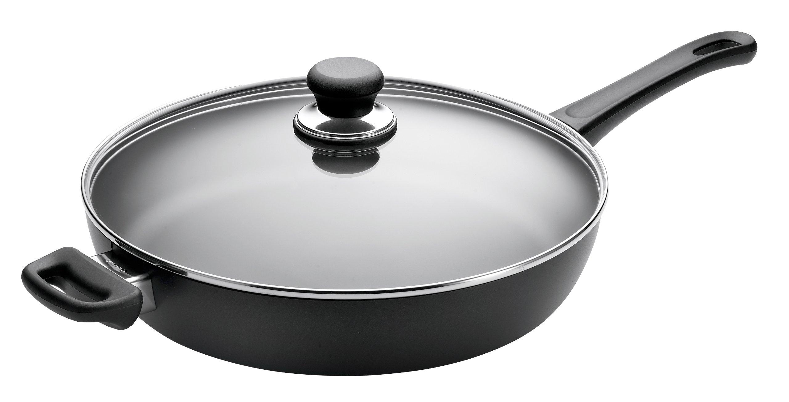 SCANPAN USA Inc 32101200 Classic Saute Pan, 3.5 quarts, Black by Scanpan