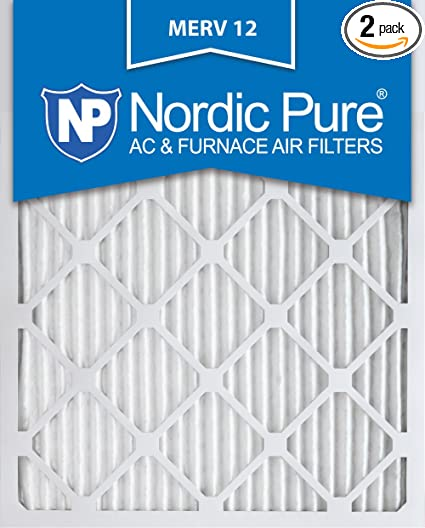 0b075032fb1 Image Unavailable. Image not available for. Color  Nordic Pure 14x20x1 MERV  12 Pleated AC Furnace Air Filters 14 x 20 x 1 2