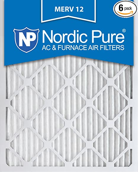QTY of 4 Filters Case Dri-Eaz F397 Carbon Air Filters Size 16x16