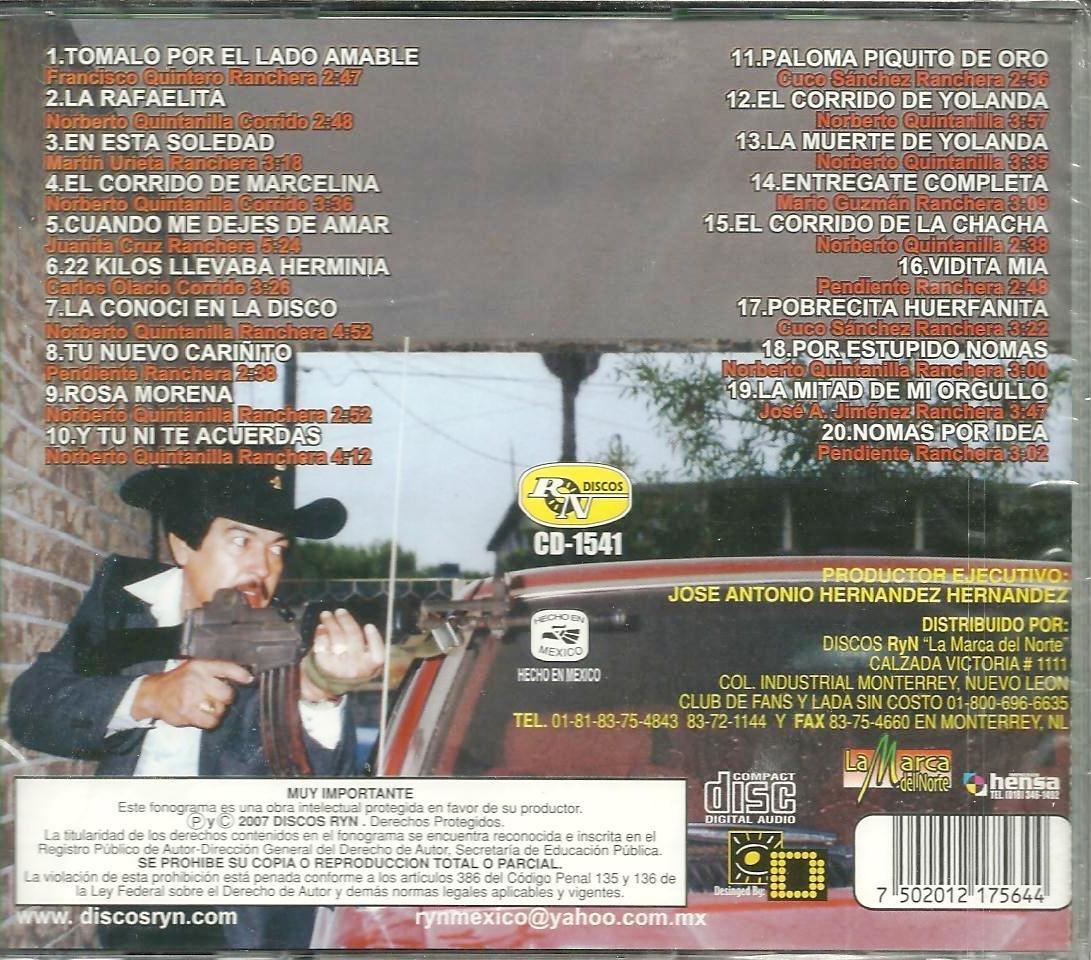Beto Quintanilla 20 Exitos Vol. 2 Las Viejas De... - Beto Quintanilla 20 Exitos Vol. 2 Las Viejas De... - Amazon.com Music