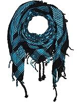 Freak Scene® Foulard palestinien/keffieh en coton - motifs étoile - 100 x 100 cm - Large palette de couleurs!