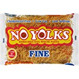 No Yolks Fine Egg Noodle, 12 oz (Pack of 12)