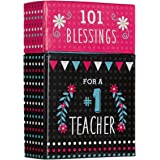 """""""101 Blessings for a #1 Teacher"""" Cards - A Box of Blessings"""