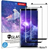 Galaxy Note 9 Screen Protector, [2 Pack] 9H Tempered Glass, HD Clear, 3D Curved Case Friendly,Bubble-Free for Samsung Note 9