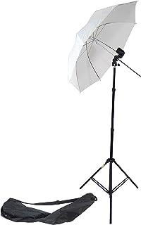 DynaSun MM2KIT 2in1 Lampenfassung Studio Licht Stativ Schirm für Blitz Lampen