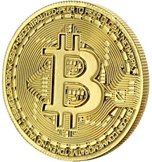 Toynk Bitcoin Gold Plated Commemorative Collectors Coin