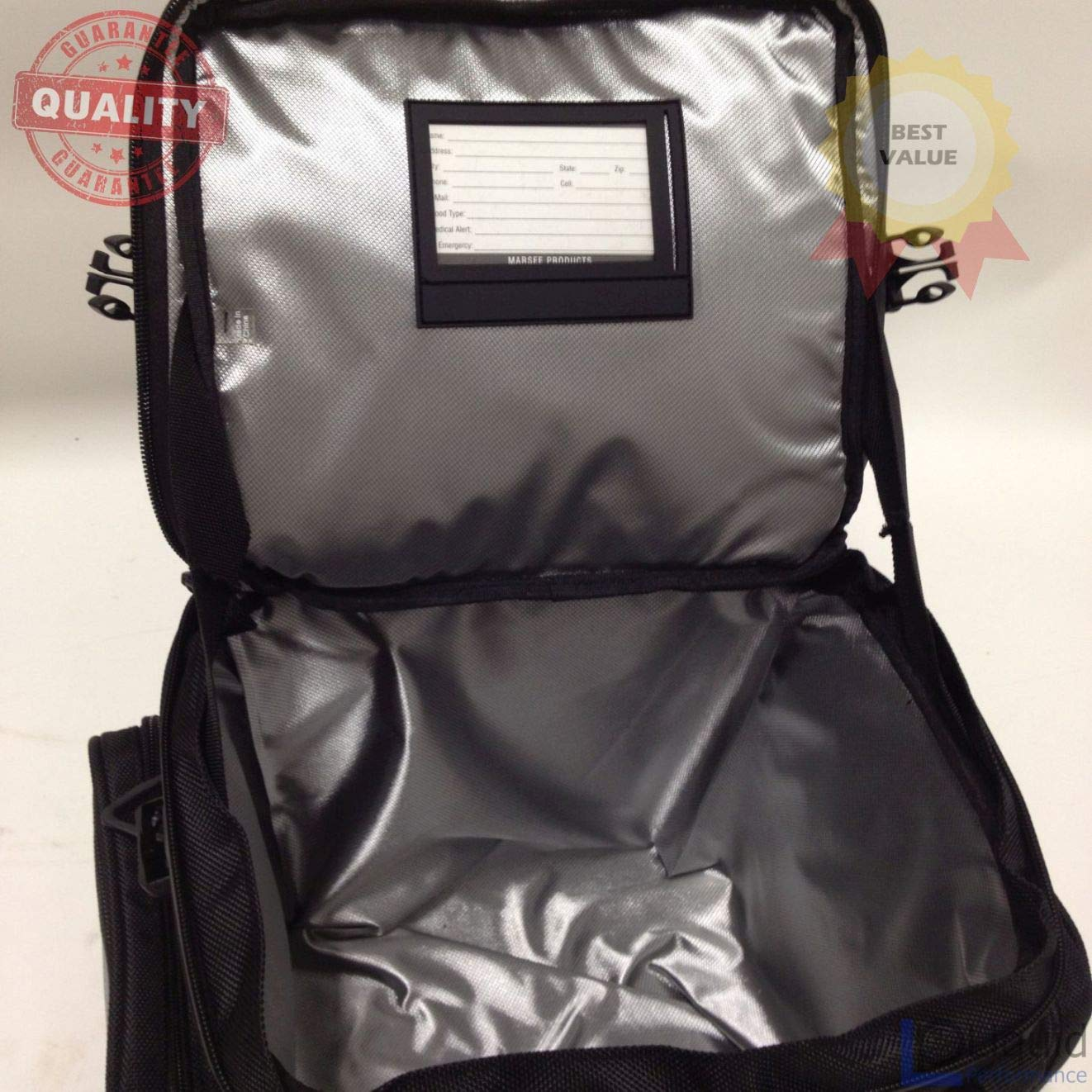 Universal Fit Motorcycle luggage Marsee 20L Rear Bag MAR-20RB