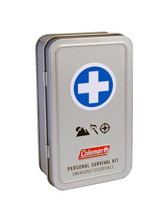 Coleman Personal Survival First Aid estaño (74 piezas), Metálico: Amazon.es: Deportes y aire libre