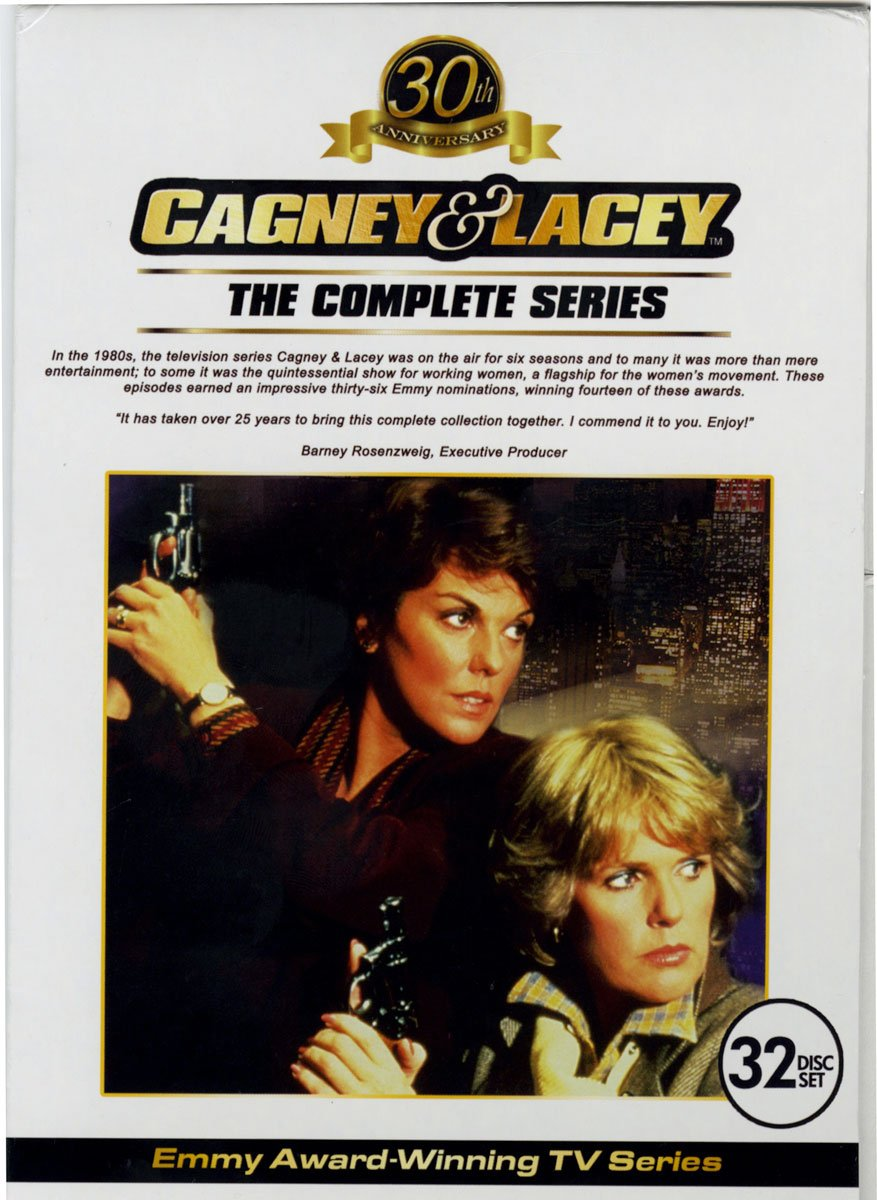 DVD : Cagney & Lacey: The Complete Series (Boxed Set, 32PC)