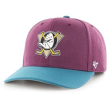 598ca3ac '47 Brand NHL Anaheim Ducks Cold Zone Two Tone Cap: Amazon.co.uk: Clothing
