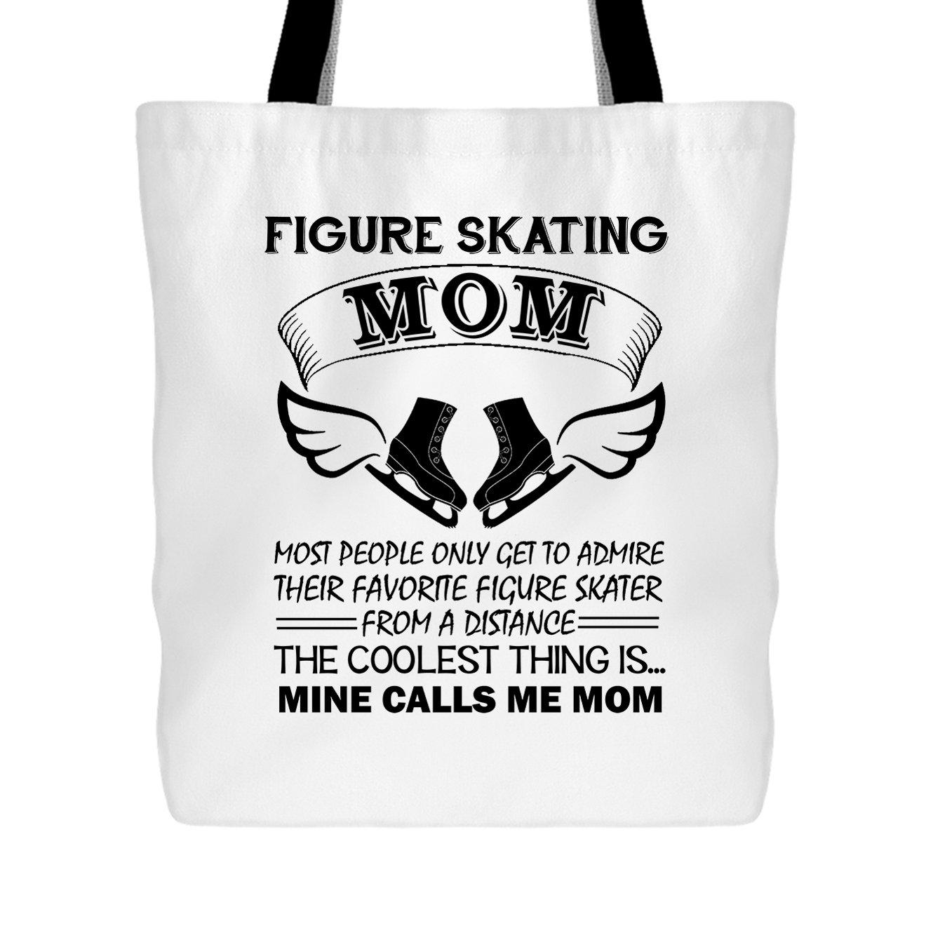Figure Skating Tote Bag - Figure Skating Mom Handbags Design Elido Store DOTAG-ELI159-WBG