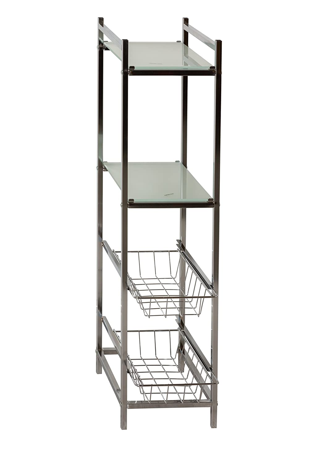 Bathroom Slim Line Storage Tower HOME SOLUTIONS