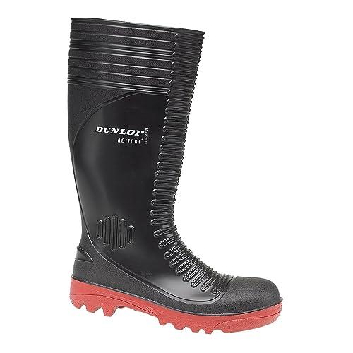 Dunlop S5 - PVC (Hombres), Botas De Seguridad De EU 44