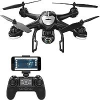 Potensic - Drones con Cámara 1080P HD, WiFi FPV RC Avion con 2.4Ghz Control Remoto, Negro (T18)