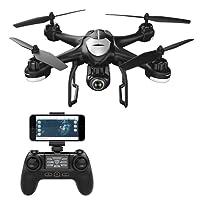 Potensic T18 Drone GPS con Videocamera 1080P HD WiFi FPV RC Quadricottero Telecomandato con Funzione Grandangolare-regolabile Camera Seguimi Altitudine Attesa Senza testa e Controllo di Più Lunga Distanza