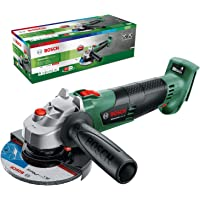 Bosch DIY tools Cordless Angle Grinder AdvancedGrind 18 (Without Battery, 18 Volt System, Disc Diameter: 125 mm, in Box…