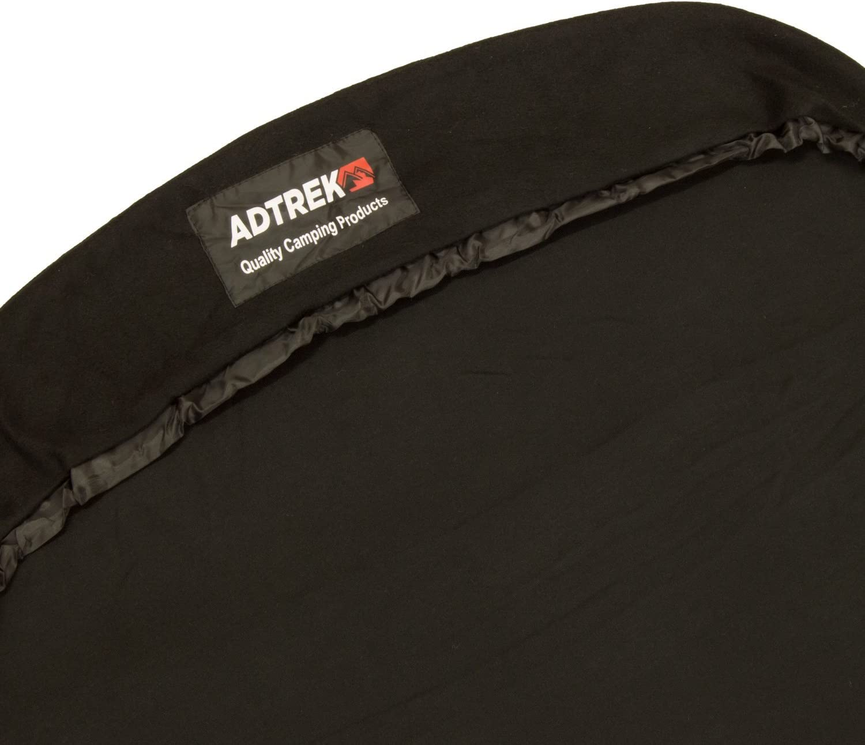 pour le camping pour sac de couchage style /« momie /»///« sarcophage /» Adtrek Drap de sac en microfibres polaires