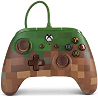 Enhanced Wired Controller Minecraft Grass Block Xbox One