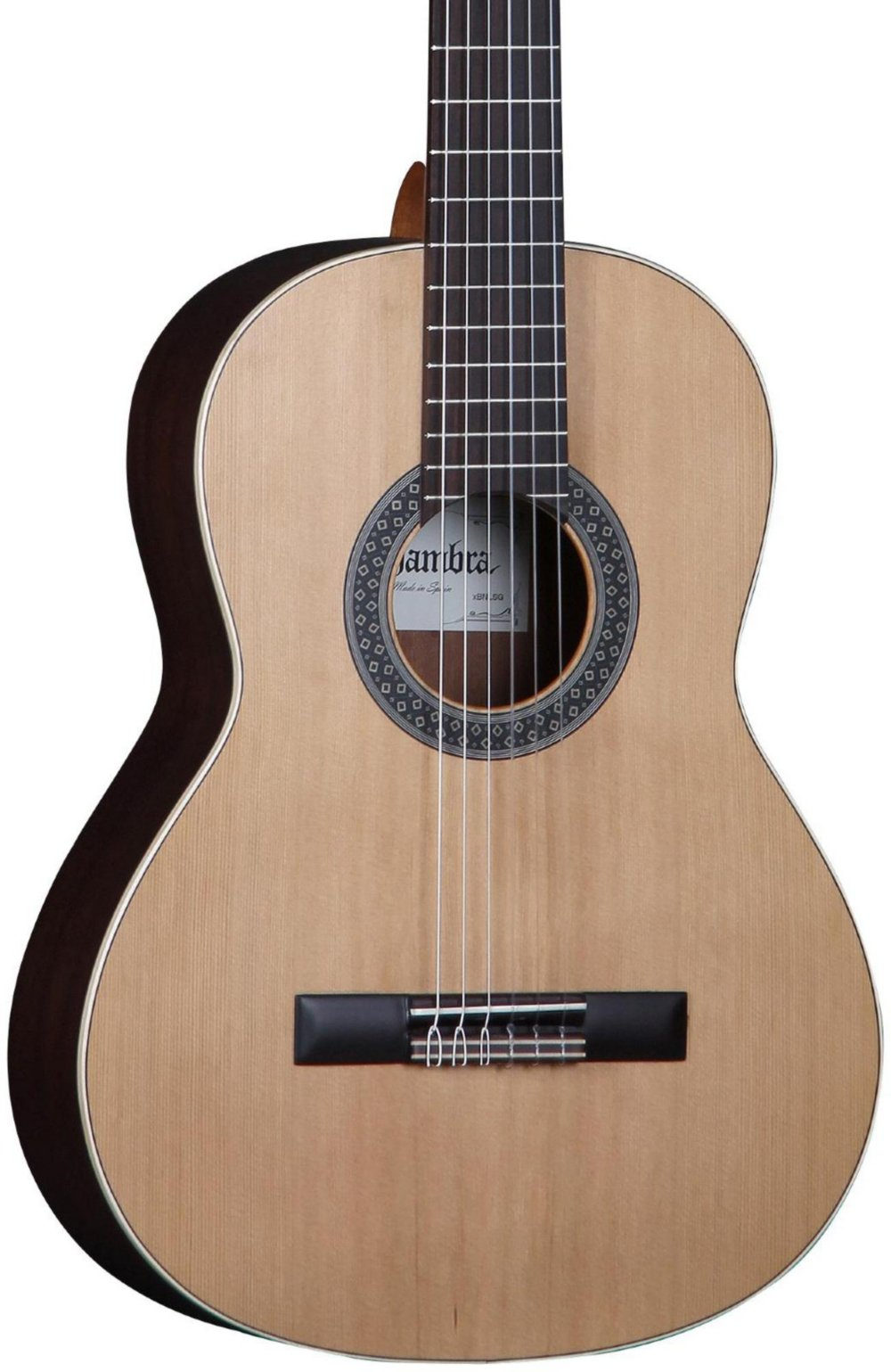 Alhambra 6 String 1OP-Cadete-US Classical Student Guitar, Right Handed, Solid Red Cedar