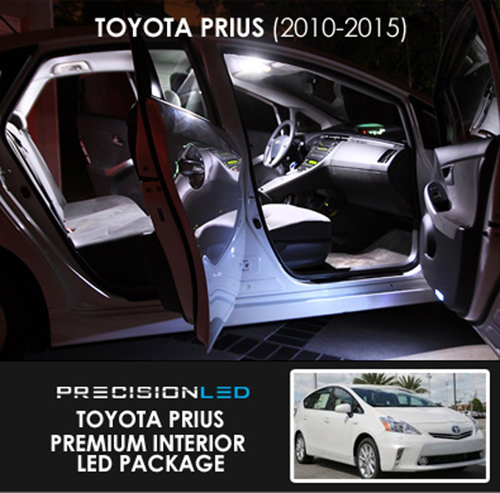 Precisionled Premium Led Interior Lighting Package For Toyota Prius Automotive