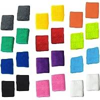 12 pares de diferentes colores de algodón sudor