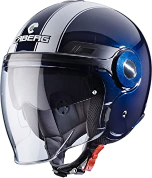 Caberg Uptown Legend Helm Midnight Blau Weiß, 30550024, Größe L (59/60