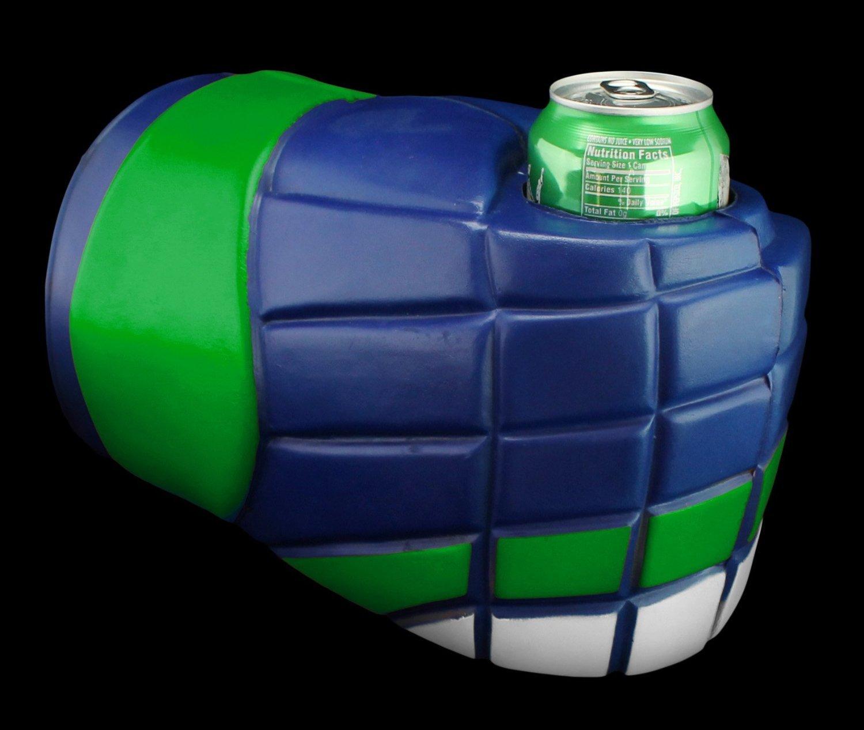 uberfist - Guante de Hockey Vancouver | puño de cerveza, cerveza Koozie, soporte para bebidas, botella, puede, taza, potable puño, espuma, de puño de ...