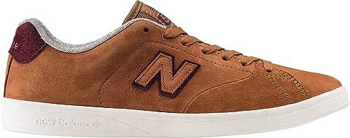 basket new balance marron