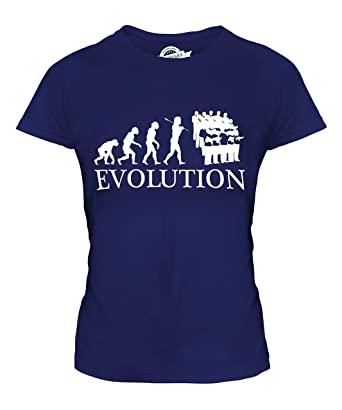 CandyMix Chor Musik Evolution Des Menschen Damen T Shirt: Amazon.de:  Bekleidung