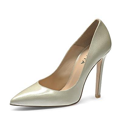 58f78da4fb MIA Escarpins Femme Cuir Verni imprimé  Amazon.fr  Chaussures et Sacs