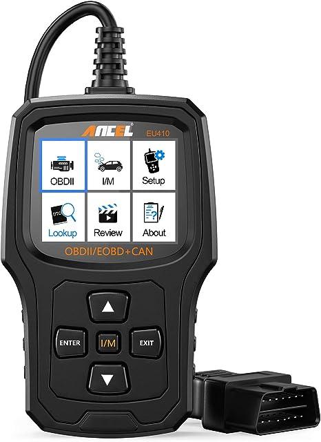 Ancel Eu410pro Obd2 Diagnosegerät Universal Automotor Fehler Code Scanner O2 Sensor Evap Systeme Scanner Mit Voll Obd2 Funktionen Auto