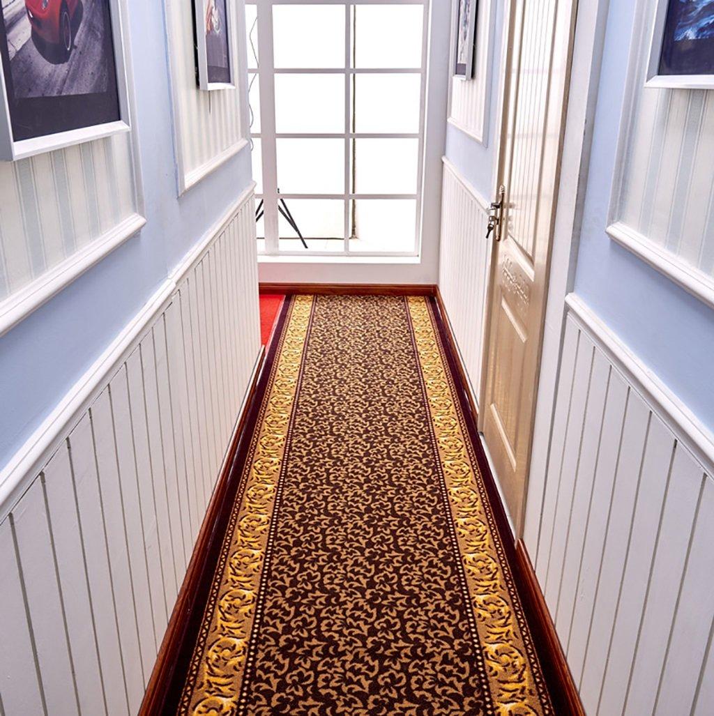 エアーカーペット、ヨーロッパスタイルのホテルの廊下階段カーペット、商業用のノンリップカーペットマット、リビングルームのベッドサイドカーペット (サイズ さいず : 90CM*3M) B07DSQK468  90CM*3M